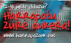 Abierto el plazo de inscripción para el programa juvenil Harrapazank