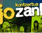 Esne Beltza eta Lain taldeen kontzertua Harrapazank programaren amaiera ekitaldian