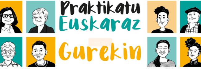 Practica euskera con los grupos de Mintzapraktika